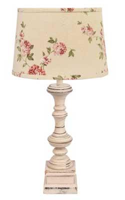 Covington Lamp Base - Buttermilk