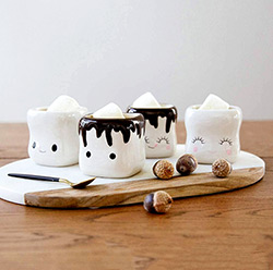 Marshmallow Mugs (Set of 4)