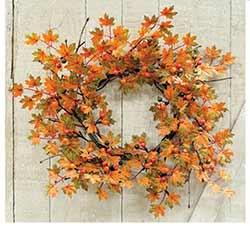 Harvest Maple & Berry Wreath