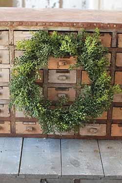 New England Boxwood Wreath