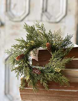 Alpine Cedar Candle Ring