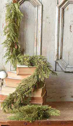 Alpine Cedar 6 foot Garland