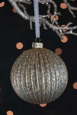 Champagne Glass Ball Ornament
