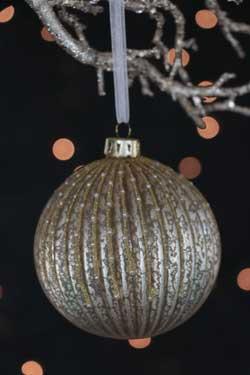 Champagne Glass Ball Ornament