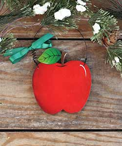 Apple Personalized Ornament