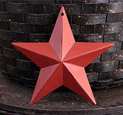 Tuscan Red Barn Star (Multiple Size Options)