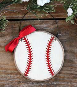 Baseball Personalized Ornament (Personalized)