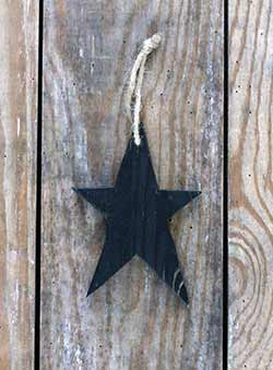 Rustic Wooden Star Ornament