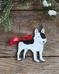 Bull Terrier Personalized Ornament