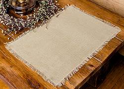 Deluxe Burlap Placemats (Set of 2)