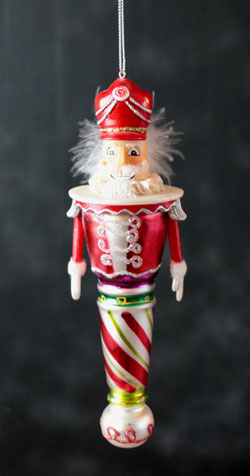 Nutcracker Suite Ornament - Red