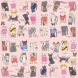 Cool Cats Paper Cocktail Napkins