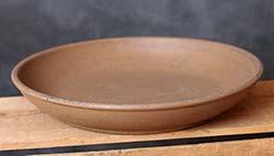 Primitive Wooden Potpourri Bowl - Mustard