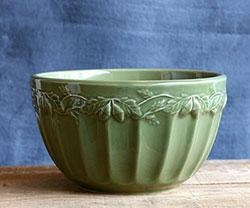 Sage Green Acorn Mixing Bowl (small)
