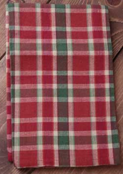 Tuscan Plaid Kitchen Towel