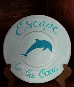 Escape to the Ocean Plate with Dolphin
