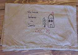 This House Believes in Santa Runner