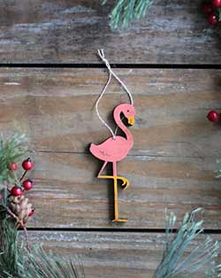 Flamingo Ornament (Personalized)