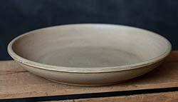 Primitive Wooden Potpourri Dish - Tan