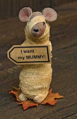 Mummy Mouse