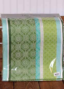 Garden Gate Jacquard Table Runner