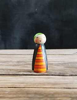 Eerie Evelyn Art Doll