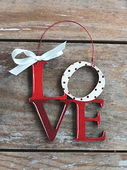 Love Letters Ornament