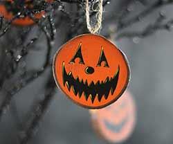 Jester Jack o'Lantern Ornament