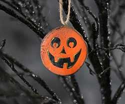 Jefferson Jack o'Lantern Ornament