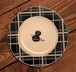 Jack O'Lantern Halloween Appetizer Plate