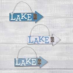 Lake Arrow Ornament
