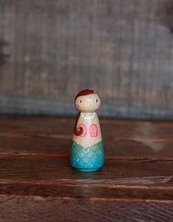 Mermaid Art Doll (or Ornament)