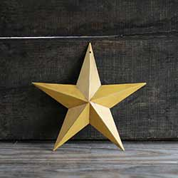 Mustard Gold Barn Star (Multiple Size Options)