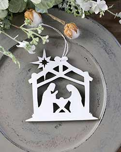 Nativity Personalized Ornament
