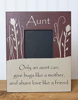 Only an Aunt Frame