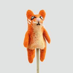 Orange Cat Finger Puppet
