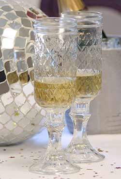 Rednek Champagne Flute (Set of 2)
