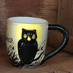 Happy Halloween Owl Mug