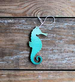 Seahorse Ornament (Personalized)