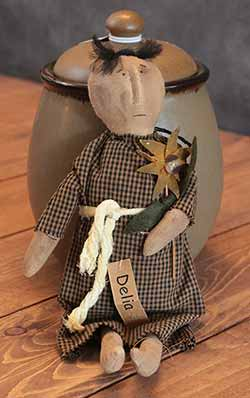 Delia Doll with Sunflower