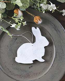 White Rabbit Personalized Ornament