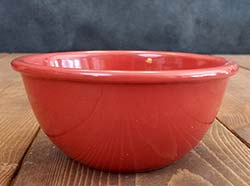 Prep/Snack Bowl - Red