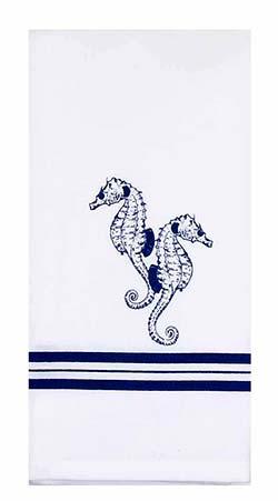 Sea Horses Kitchen Towels (Set of 2)