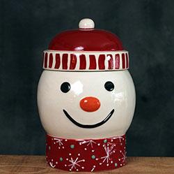 Snowman Candy/Treat Jar