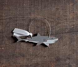 Shark Ornament (Personalized)