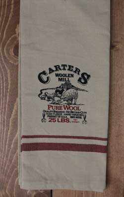 Carters Woolen Mill Towel