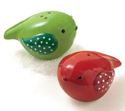 Songbird Salt & Pepper Shaker Set
