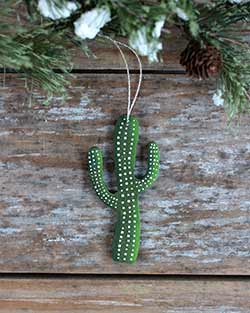 Saguaro Cactus Personalized Ornament