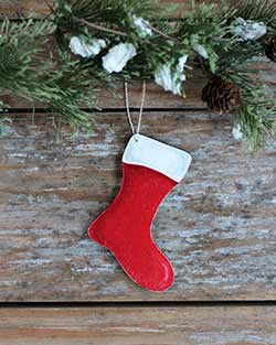 Stocking Personalized Ornament