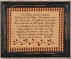 Lord's Prayer Sampler